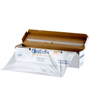 #75003831 Prime Source® 18` x 2000' Plastic Film with Cutter Dispenser Box