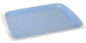 Clear Protection® Tray Covers, PS201 Plasdent Clear Protection® Disposable Plastic Tray Cover Sleeves (10.5`w x 14`L)