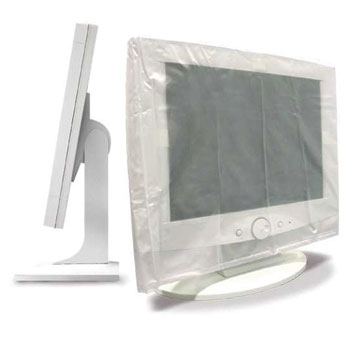 LCD Cover, PS410 Plasdent Clear Protection® Disposable LCD & Computer KeyBoard Protective Covers