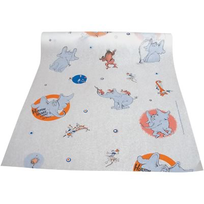 Tidi® Choice™ Disposable Dr Suess® Smooth Pediatric Exam Table Paper - 18` x 225': Horton 983918