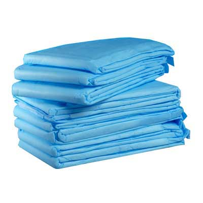 1347 Dynarex® 30` x 30`  Disposable Fluff-Filled Underpads