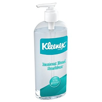 Kimberly Clark® Kleenex® 8-oz Instant Gel Hand Sanitizer with 62% ethyl alcohol formula