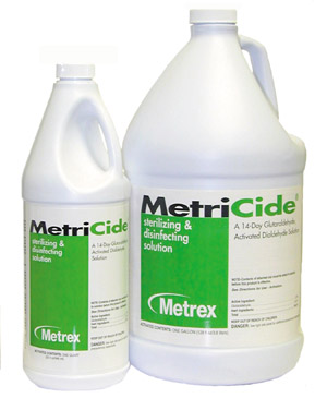 MetriCide® High Level Disinfectant Sterilant, #10-1400 Metrex MetriCide® High Level Disinfectant Sterilant Solution (Gallon)