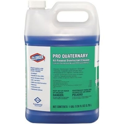 CLO 30423 Clorox® Pro Quaternary All-Purpose Disinfectant Cleaner, 30423 Clorox® Pro Quaternary Disinfectant Solution (128-oz)
