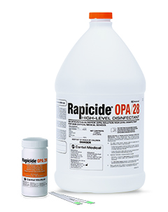 Rapicide® OPA/28 High-Level Disinfectant, ML020137 Crosstex® Rapicide® High-Level Disinfectant Kit
