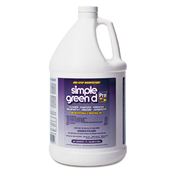 d Pro 5 One Step Disinfectant, 30501 Simple Green® d Pro 5® One Step Disinfectant, Sanitizer & Cleaner (Gallon)