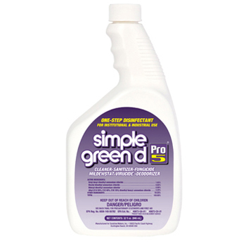 SIMPLE GREEN PRO 5, 30532 Simple Green® d Pro 5® One-Step Disinfectant Solution (32-oz)