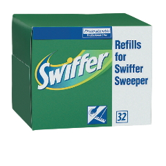 PGC 33407 Swiffer® Dry Refill Cloths, 33407 Proctor & Gamble Professional Swiffer® Dry Refill Cloths