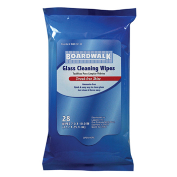 #BWK 341-W Boardwalk® Glass & Surface Cleaning Wipes