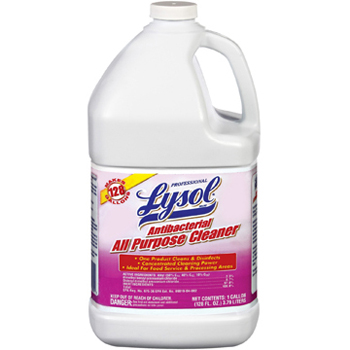 Lysol® All-Purpose Cleaner, 74392 Lysol® Brand Antibacterial All-Purpose Cleaner, 74392 Reckitt Benckiser® Lysol® Brand Antibacterial All-Purpose Cleaner (Gallon)