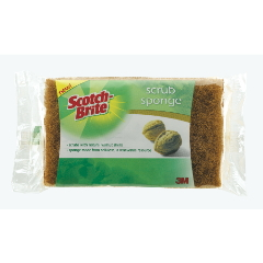 Scotch-Brite Natural Fiber Scrub Sponge