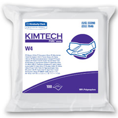 33390 Kimberly Clark® KimTech Pure® Disposable Dry Wipers