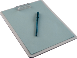 Polypropylene Cleanroom Clipboard