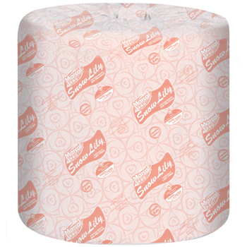Snow Lily  Recycled Bath Tissue, Marcal® Pro™ Snow Lilly Standard Bath Tissue Rolls