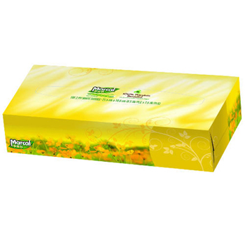 Fluff Out® Recycled Facial Tissue
