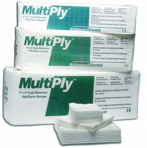 MultiPly™ Non-Woven Gauze Sponges