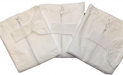 Microporous Coverall w/ Sleeve Guard Cuff Extensions