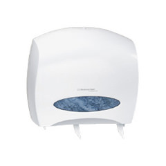 K-C PROFESSIONAL* WINDOWS* JRT Jr. ESCORT* Jumbo Roll Bath Tissue Dispenser w/ Stub Roll CODE 09508