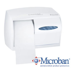 K-C PROFESSIONAL* Coreless Double Roll Bath Tissue Dispenser CODE 09605