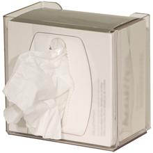 Clear PETG Plastic Task Wipe Dispenser - Small Part #: CL002-0111