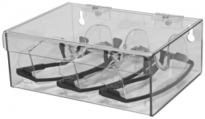 Eyewear Dispenser - Hinged Lid Top