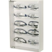 CP-075 Bowman® ABS Plastic Locking Eyewear Cabinet - 10 pair