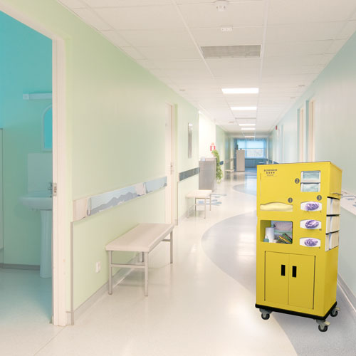 Bowman® Mobile PPE Cart II