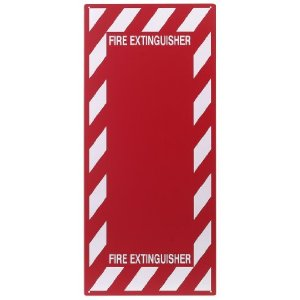 PRINZING FIRE EXTINGUISHER BACKPLATE