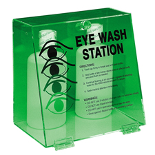 Double Bottle Eye Wash Station - # PD997E
