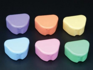 Pastel Deep Retainer Boxes, 200DBPSA Plasdent Pastel™ Deep Dish Dental Patient Retainer Boxes