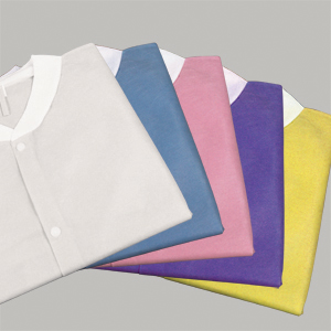 Dynarex® Disposable SMS Protective Lab Coats w/ Pockets & Knit Cuffs