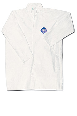 TY210SWH DuPont™ Disposable Tyvek® Protective Frocks w/ no Pockets
