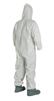 ProShield® NexGen®, NG122SWS DuPont™ ProShield® NexGen® Disposable Protective Coveralls w/  Hood/Booties, white