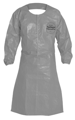 Tychem® ThermoPro Chemical Protection Apron- Gray