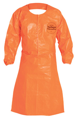 Tychem® ThermoPro Chemical Protection Apron- Orange