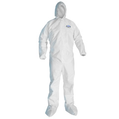 41515 Kimberly Clark® Professional KleenGuard® A45 Hooded/Booties Liquid & Particle Protection Apparel