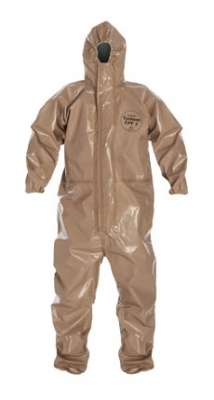 DuPont™ Tychem® CPF 3 Limited-Use Chemical-Resistant Protective Coveralls w/ Respiartor Fit Hood