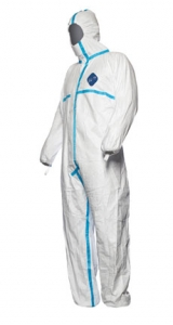 DuPont™ Tyvek® Plus Disposable Protective Coveralls w/ Hood & Elastic