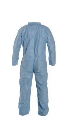 DuPont™ Tempro® Coverall, Blue, TM120SBU DuPont™ Tempro® Disposable FR Protective Coveralls