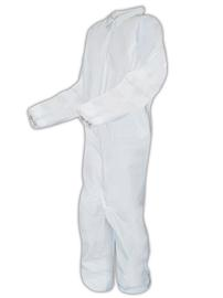 SMP125 Sunrise Industries SunTech™ Disposable Microporous Protective Coveralls w/ Elastic Cuffs