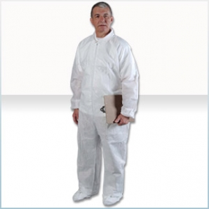 CV74032 AlphaProtech® Critical Cover® Aquaguard® Disposable Protective Coveralls w/ Elastic Cuffs