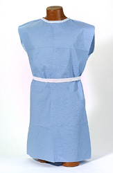 TIDI® Ultimate XL Scrim-Reinforced Patient Exam Gowns