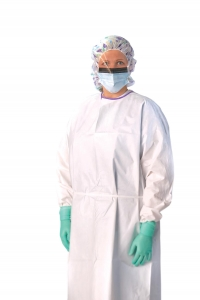 Medline®  AAMI Level 3 Disposable Protective Microporous Barrier Gowns