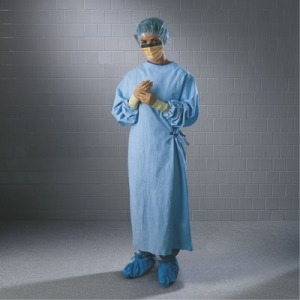Ultra Sterile Surgical Gowns, 95121 Halyard® Health Ultra Disposable Sterile Surgical Gowns - XL