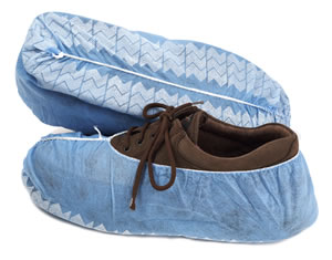 Dynarex® Disposable Polypropylene Shoe Covers