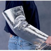 National Safety Apparel® 18` Aluminized Norbest 913™ Sleeves, SO2NJ181 NSA Aluminized Carbon Kevlar Sleeve Protector