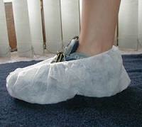 Keystone White Polypropylene Shoe Covers