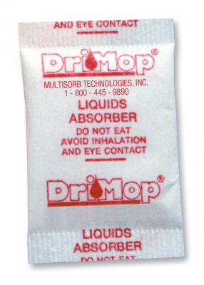 DriMop® Medical Liquid Absorber Pouches
