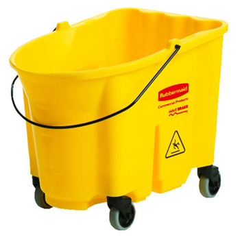 Rubbermaid® Commercial 35 Qt WaveBrake® Mop Bucket w/ Casters