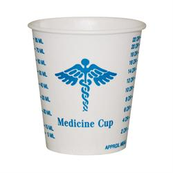 Solo® 3-oz Wax Coated Paper Medicine Cups
